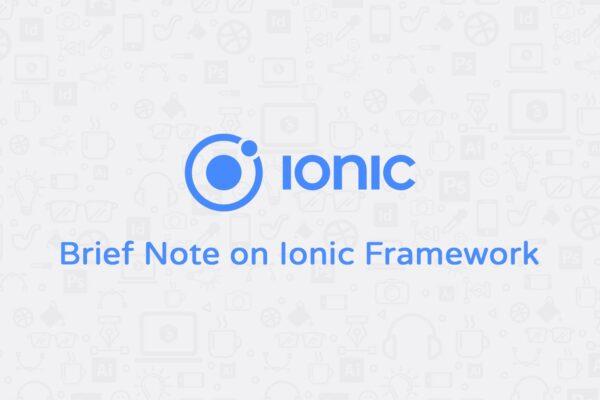 Ionic Framework Kullanarak Mobil Uygulama Yapmak